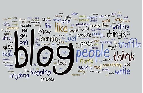 criação do primeiro blog